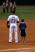 Standing with Pena